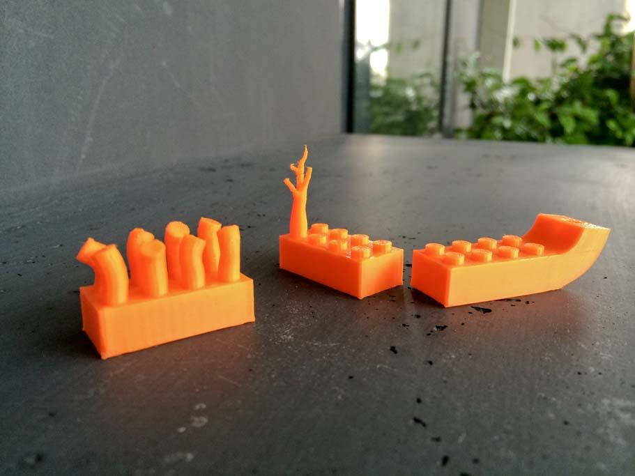 Variation autour des legos en Impression 3D