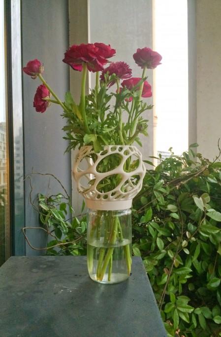 Vases Impressions 3D et Pot de confiture